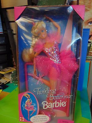 Mattel - Barbie Doll - 1995 Twirling Ballerina Barbie NEW IN THE BOX