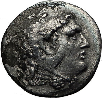 ALEXANDER III the GREAT 250BC Ancient Silver Greek Tetradrachm Coin ZEUS i60665