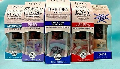 OPI Nail TREATMENT Polish Nail Envy RAPIDRY Start to Finish Top Base AVOPLEX New