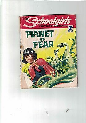 Schoolgirls Picture Library No 314 Plant of Fear 1965