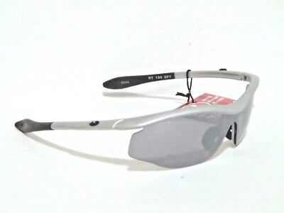 Rawlings Youth 100 Sport Sunglasses Silver Wrap Baseball Softball 2-3547