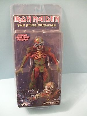"""Iron Maiden The Final Frontier 7"""" Eddie  action figure by Neca 2011 NEW"""