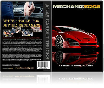 ASE Certification TEST PREP Program A1-A9 Automotive Repair STUDY Guide CD-ROM