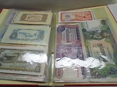 Vtg 30 Pcs Old Notes Money Indochine-Vietnam Collection Paper & Book 137