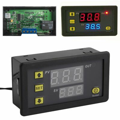 W3230 LCD 12V Digital Thermostat Temperature Controller Meter Regulator XRAU