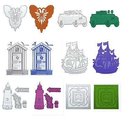 Metal Die Cutting Dies Stencil DIY Scrapbooking Embossing Paper Card Decor Gifts
