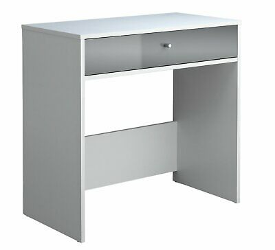 HOME Gloss Front 1 Drawer Compact Laptop Desk - White. From Argos on ebay