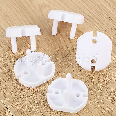 10pcs EU Plug Socket Cover Baby Proof Child Safety Protector Guard Electrical