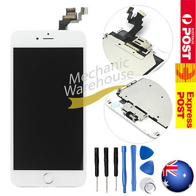 LCD Display Touch Screen Home Button Camera Digitizer Assembly iPhone 6 Plus 5.5