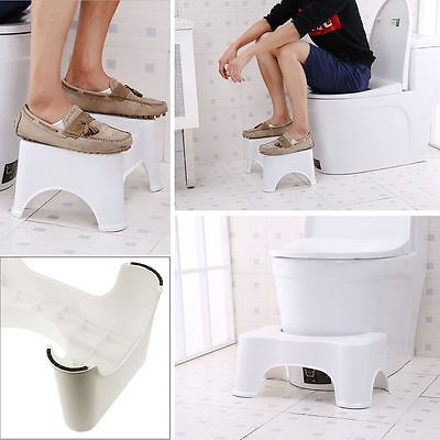 2017 Sit And Squat Squatty Potty Toilet Stool Healthy Colon Constipation AU