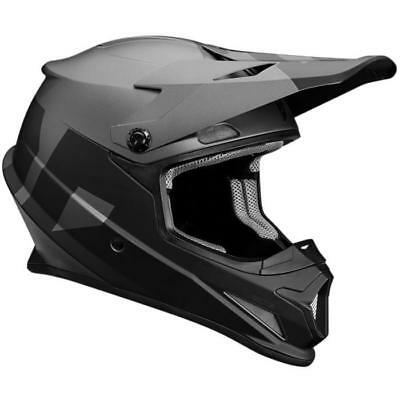 Thor MX Helm Sector Level -  schwarz-grau Motocross Enduro MX Cross