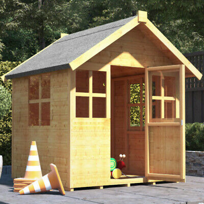 4x4 BillyOh Bunny Max Children Wooden Playhouse Outdoor Playground 4ft x 4ft