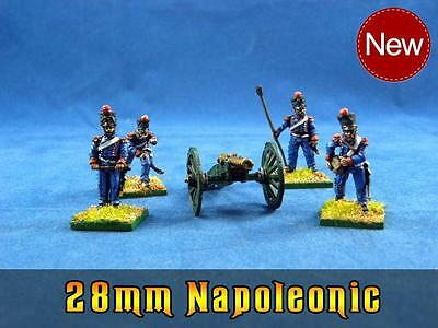 28mm Napoleonic painted French Artillery pefn19