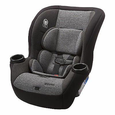 Cosco Comfy Padded  5-50 lbs. Convertible Car Seat, Heather Granite | CC166DSE