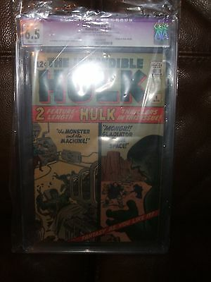 Incredible Hulk # 4 Cgc 6.5 Restored Grade Origin Of Hulk Marvel Comics