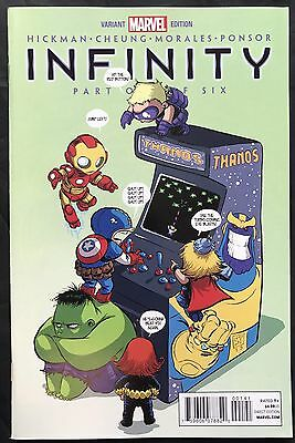 Marvel Comics Infinity #1 (of 6) Skottie Young Variant Cover