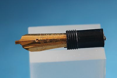 Vintage Osmiroid No. 65 Italic Broad Straight Nib Unit, Used