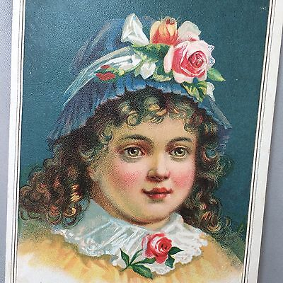 c1900 Antique GERMAN COFFEE & SPICE Victorian Advertising TRADE CARD Omaha Neb