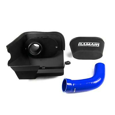 Blue Ramair Air Filter Induction Intake Kit for Seat Leon 2.0 TSI FR Cupra MQB