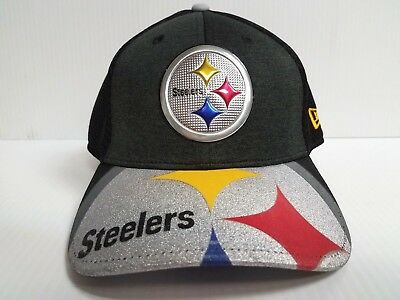 timeless design 986cb 73aa7 ... switzerland pittsburgh steelers cap new era 39thirty stretch fit 2017  nfl draft day hat 77333 83af2