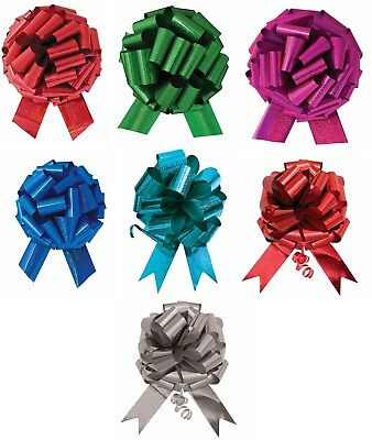"14"" XL Large Giant Pull Bow Pew Bows Wedding Decorations Christmas Gift Wrap"