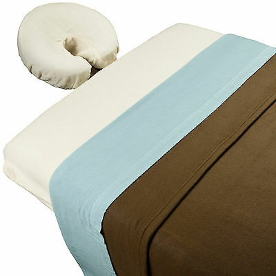 Body Linen Mountain Retreat™ Theme Massage Table Sheet Set with Blanket