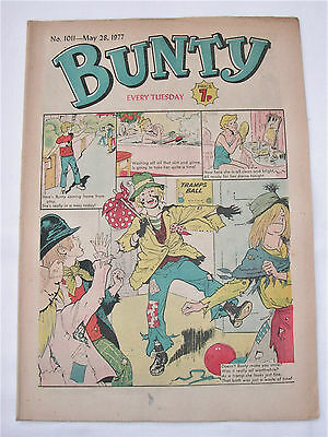 Vintage Bunty Comic No.1011 May 28th, 1977 – 40 years old! Top Birthday Gift!