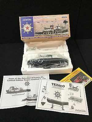 "Ertl Collectibles Texaco ""Havoline"" Die Cast Tugboat Bank 2nd in Series 2001"
