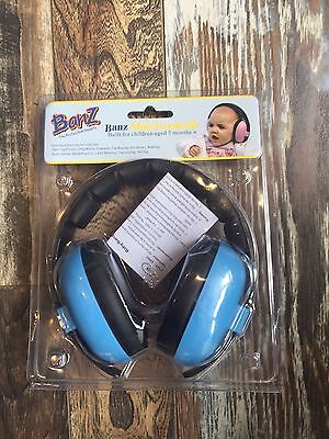 Banz Mini Earmuffs-Blue