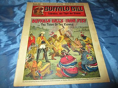 BUFFALO  BILL , Held des Wilden Westens , Band 102 , Romanheft 1932 / 1933