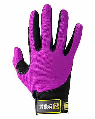 Noble Outfitters Perfect Fit, COOL MESH, Gloves - Size 6 - NWT - BLACKBERRY.