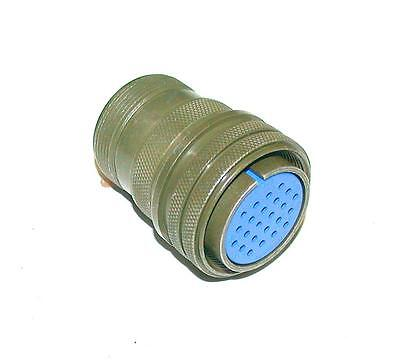 New Amphenol   24-28S  Size 24   Circular 24-Pin Female Straight Connector