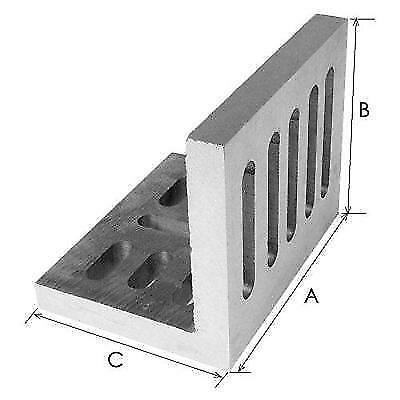 """HHIP 3402-0203 6"""" x 5"""" x 4-1/2 Inch Slotted Angle Plate, Opened New"""