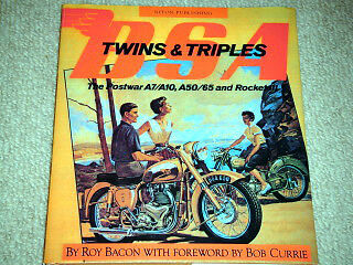 Bsa Twins Triples A7 Star Twin A10 A50 A65 A70 Super Rocket Dunstall Thunderbolt