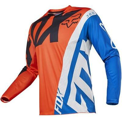 Fox 2017 Herren Motocross / MTB Jersey - 360 CREO - orange Motocross Enduro MX C
