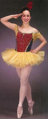 Strike Up The Band Ballet Dance Costume Tutu Child Girls CXS, CS, 6X7