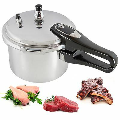 3l Litre Cooking Pressure Cooker Aluminium Kitchen Home Cookware Catering