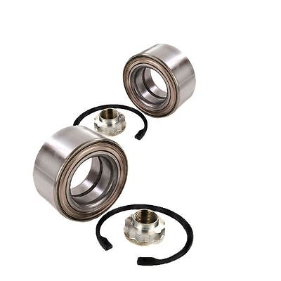 For Mercedes A-Class 2004-2012 Front Wheel Bearing Kits Pair