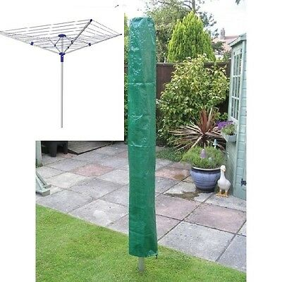 1.5 Metre x 30cm Rotary Washing Line Parasol Rain Cover Pouch Airer Clothes