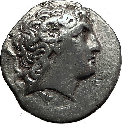 LYSIMACHOS 288BC Silver Tetradrachm Greek Coin ALEXANDER the GREAT Athena i60674