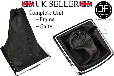 For Ford Focus Mk2 Ii 05-07 Gear Gaiter Shift Boot + Silver Frame New