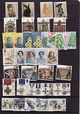 1990-1999  Used Commemorative Stamps In Year Sets