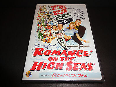 ROMANCE ON THE HIGH SEAS-DORIS DAY's movie debut-She's on a cruise w/false name