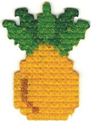 39234 Pineapple Fruit Topical Pina Colada Food Luau Embroidered Iron On Patch