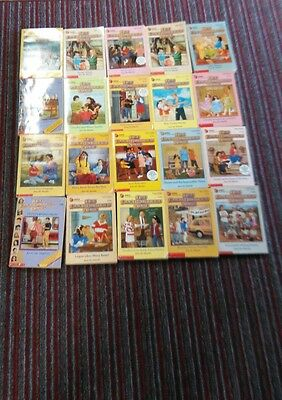 The Baby-Sitters Club By Ann M. Martin Lot Of 20 Pb Novels
