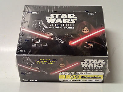 2016 Topps STAR WARS Card Trader sealed Trading Card Retail Box! 24 Packs!