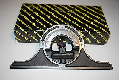 NOS Brown & Sharpe USA Made Combination Square Protractor Angle Head M3C2.3