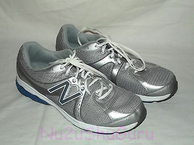 NEW BALANCE 665 Silver/Blue/White Running Sneakers Mens Size 12 4E