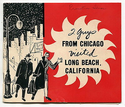 1950s Long Beach [CA] Newspaper Promo: Supermarket Advertising, Chicago Ad Men +