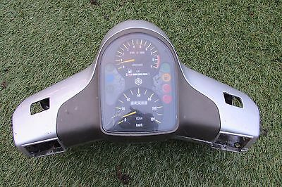Shed Cleared-Piaggio Vespa Cosa Headset & Clocks-Good Condition-Complete Orig
